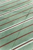 Lines on concrete Royalty Free Stock Images
