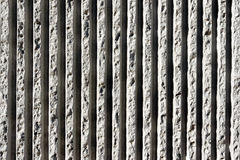 Lines of concrete textures on wall Royalty Free Stock Image