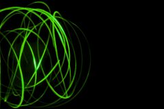 Lines and curves created by Light Painting 20 stock photos