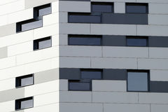 Lines defining an abstract modern architecture background Royalty Free Stock Images