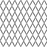 Lines and dots arranged in argyle pattern Royalty Free Stock Images
