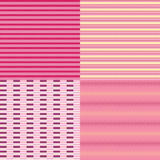 Lines and Dots Seamless Pattern Backgrounds. Royalty Free Stock Images