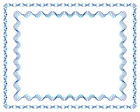 Lines Frames No.1+No.2. Guilloche Vector Frames (line strokes are editable Royalty Free Stock Photography