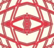 Lines geometry. Abstract illustration. White background. Red pattern. Wallpaper for Web design royalty free illustration