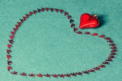 Festive background for St. Valentine`s Day royalty free stock photos