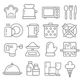 Lines icons pack collection Stock Photo
