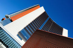 Lines In Architecture Stock Image