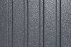Lines on metal sheet background. Profiled steel sheet. Can be used as a background Royalty Free Stock Image