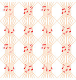 Lines Music Pattern 2 Royalty Free Stock Photo