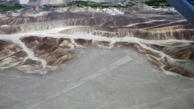lines nazca Arkivfoton