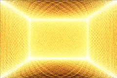 lines orange yellow Royaltyfri Foto
