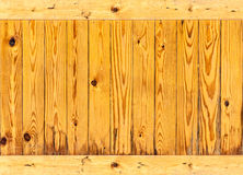 Lines pattern on wooden wall Stock Images