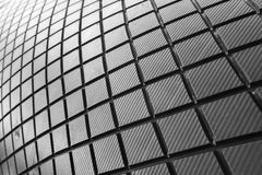 Lines, patterns and curves. Black and white abstract with lines, patterns and curves Stock Photo