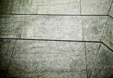 Lines and patterns on the marble floor Stock Image