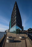 Lines & perspective of modern architecture in Copenhagen Royalty Free Stock Image