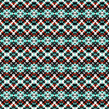 Lines and polygons abstract geometric seamless pattern in retro style. (vector eps 10 Royalty Free Stock Photography