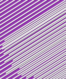 Lines on Purple Royalty Free Stock Photography