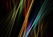 Lines, Rays, Background, Light Stock Photo