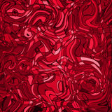 Lines red mosaic background stock illustration