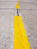 Lines on road Royalty Free Stock Photo