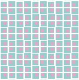 Lines rombs dots pattern Stock Images