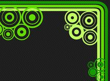 Lines and rounds background Royalty Free Stock Photography