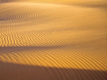 Lines in the sand Royalty Free Stock Photos
