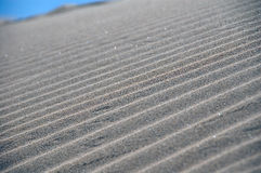 Lines in the sand. A pattern of lines in the sand Royalty Free Stock Photo