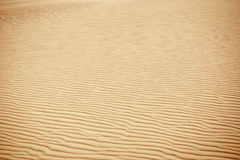 Lines in the sand of a beach Royalty Free Stock Image