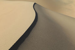 Lines in the Sand, California, USA.. Royalty Free Stock Photography