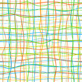 Lines Seamless Pattern Royalty Free Stock Photo
