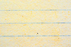 Lines on sheet of paper, various colours and textures Stock Images