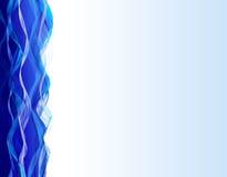 Lines shiny blue mosaic Stock Photography
