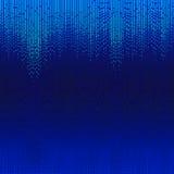 Lines shiny blue mosaic stock illustration
