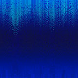 Lines shiny blue mosaic Royalty Free Stock Image