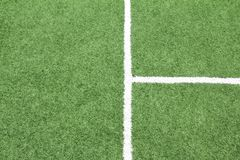 Lines on soccer field, Stock Photography