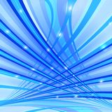 Lines in spase Royalty Free Stock Images