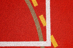 Lines of sports fields Stock Photography