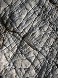Lines on surface of rock Royalty Free Stock Photos
