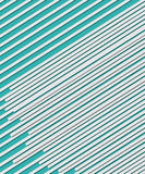 Lines on Teal Royalty Free Stock Image