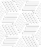 Lines and triangles seamless Royalty Free Stock Photo