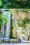 Waterfall, landscape, nature , water, greens stock photos