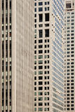 Lines and windows. Surface of modern sky-scrapers Stock Images