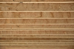 Lines of wood lath Royalty Free Stock Photography