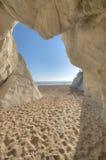 Linestone de la playa de Pismo en la carretera 1 Fotos de archivo