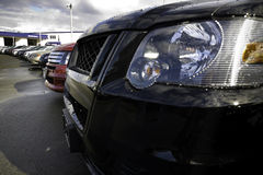 Lineup of car grilles Royalty Free Stock Image