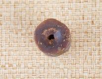 Linfa Sugar On Wicker del cocco V Fotografie Stock Libere da Diritti