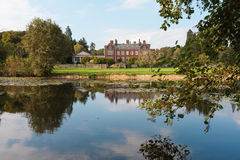 Linford hall Hotel England Royalty Free Stock Photography