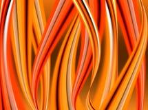 Lingüetas abstratas da flama ilustração do vetor