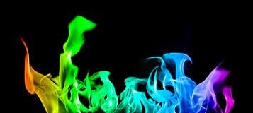 Lingüetas do incêndio Imagem de Stock Royalty Free